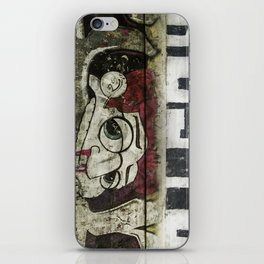 The writing on the wall iPhone Skin