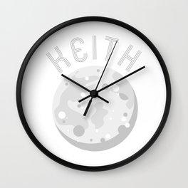 Keith Moon Traveler Wall Clock