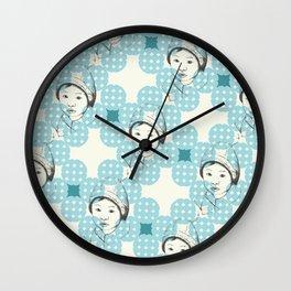 Niños Wall Clock