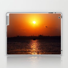 sunset in Istanbul Laptop & iPad Skin