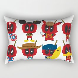 PURE DEAD POOL Rectangular Pillow