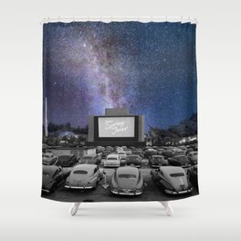 Drive-In Shower Curtain