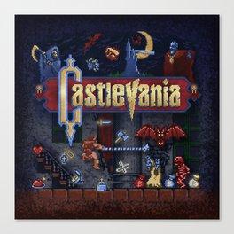 Vania Castle Canvas Print