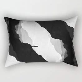 White Isolation Rectangular Pillow