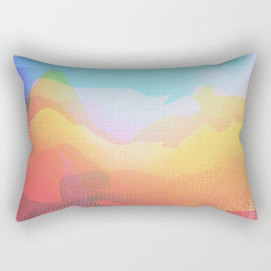 Glitch 18 Rectangular Pillow