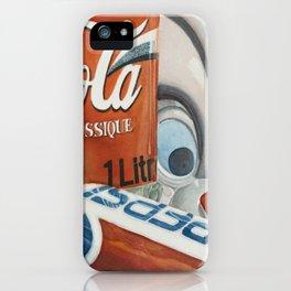 Crazy cookiejar iPhone Case