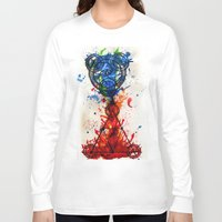 alchemy Long Sleeve T-shirts featuring abstract alchemy by Jesse Kerr