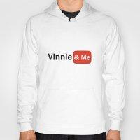 youtube Hoodies featuring Vinnie & Me YouTube by Vinnie&Me