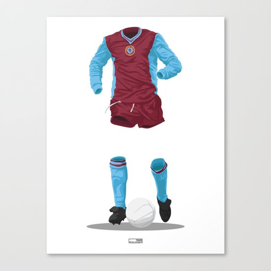 Aston Villa 1981/82 - European Cup Winners  Canvas Print