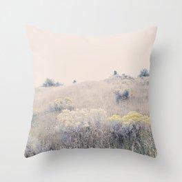August Gold Throw Pillow