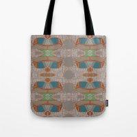 megan lara Tote Bags featuring lara by kallia panopoulou