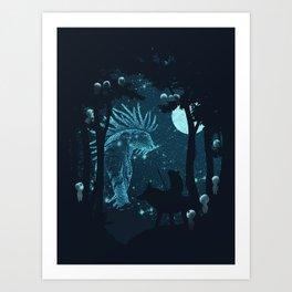 Forest Spirit Art Print