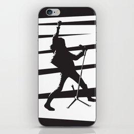 Legendary Punk Frontman iPhone Skin