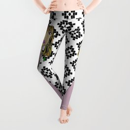 Pink Lady from Casablanca Leggings