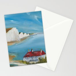 Cuckmere Valley in UK Stationery Cards