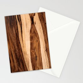 Sheesham Wood Grain Texture, Close Up Stationery Cards