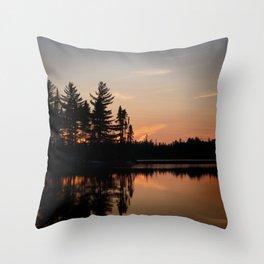 Northern Sunset 002 Throw Pillow