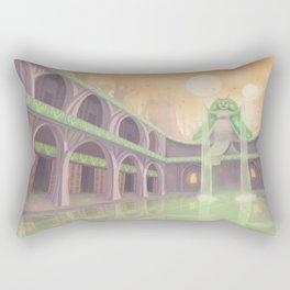 Space Atlantis Rectangular Pillow