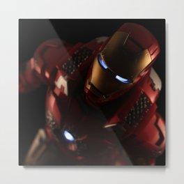 The Iron Man Metal Print