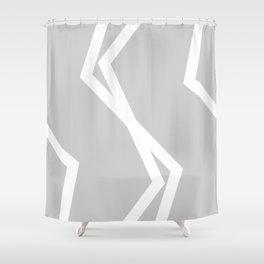 Morning Lightning Shower Curtain