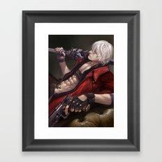DMC3x4 Framed Art Print