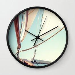 Setting Course x Nautical Art Wall Clock