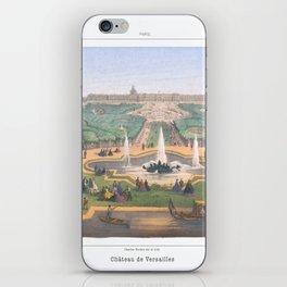 Paris art print Paris Decor office decoration vintage decor VERSAILLES CHATEAU of Paris iPhone Skin