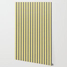 Geometric Pattern 189 (mustard) Wallpaper