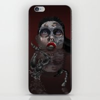 scorpio iPhone & iPod Skins featuring Scorpio by Sammy Cee