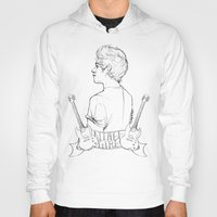 niall Hoodies featuring Niall Girl by Ashley R. Guillory