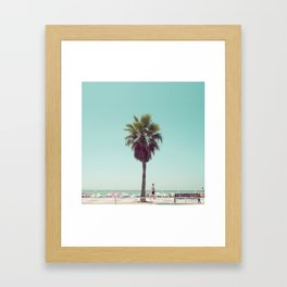 Just Another Summer Postcard Framed Art Print