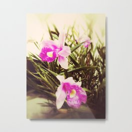 Orquidea Metal Print