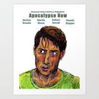 apocalypse now Art Prints featuring Apocalypse Now by AdrockHoward