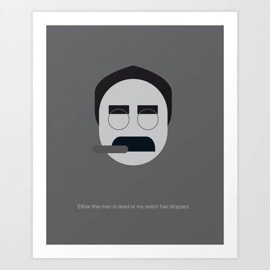 FC - Groucho Art Print