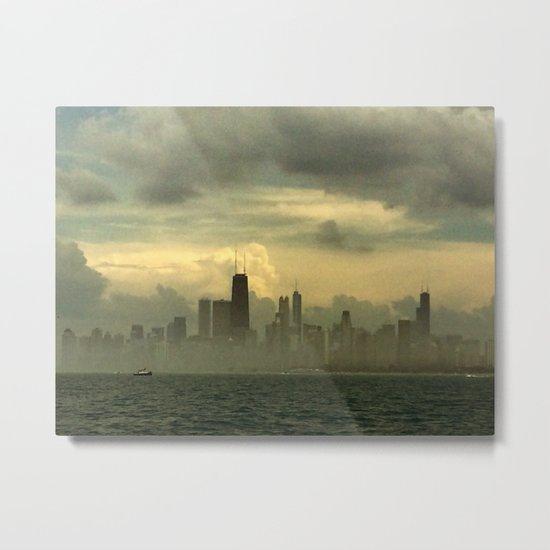 Foggy Michigan Sea #4 Metal Print