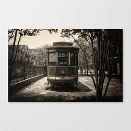 Streetcar Named Desire - New Orleans 1988 Canvas Print