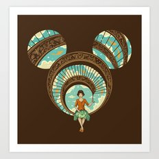 World of Imagination Art Print