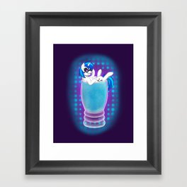 Drink Ponies: Vinyl Scratch Framed Art Print