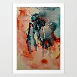 CORALINE SERIES-3 Art Print