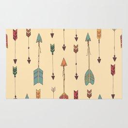 Bohemian hand drawn arrows, 01 Rug