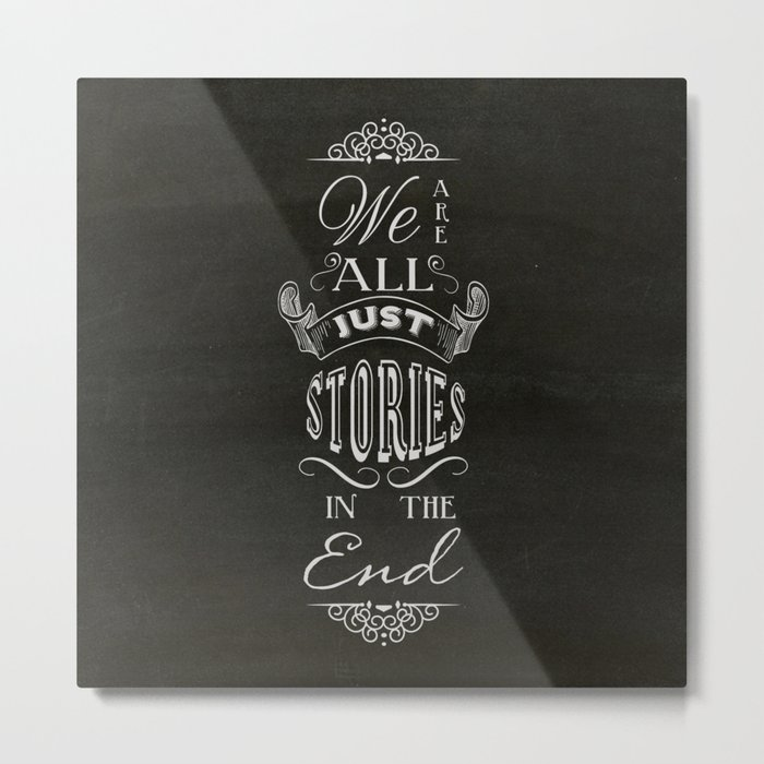 Just Stories Metal Print