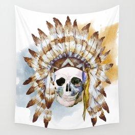 Skull 02 Wall Tapestry