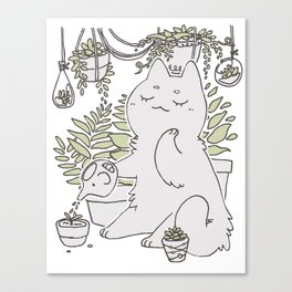 Gardener (White ver.) Canvas Print
