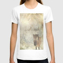 Iceland, forged by fire and ice T-shirt
