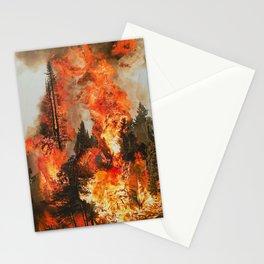 Fire Study #1 Stationery Cards