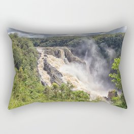Magnificent Barron Falls Rectangular Pillow