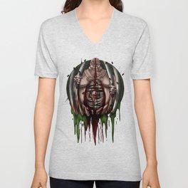 Halloween Horror scary Monster Thing Costume Gift Unisex V-Neck