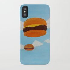 Bob's Flying Burgers iPhone X Slim Case