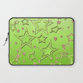 Bright green  lime , green neon Laptop Sleeve