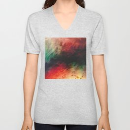 SEEING TROUGH WALLS #1 Unisex V-Neck